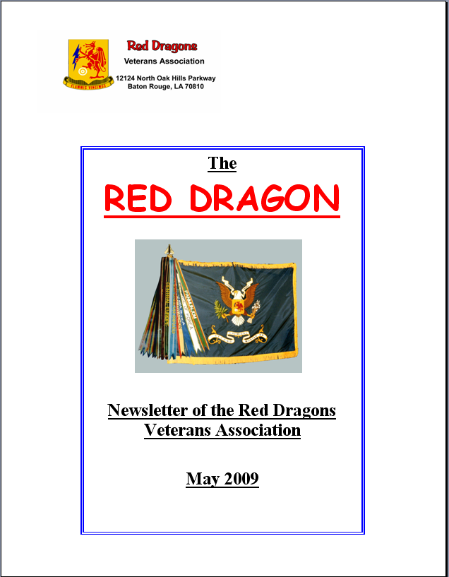 Red Dragon May 2009 Page 1