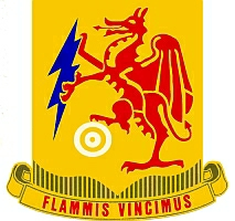 2nd Chemical Battalion Red Dragon Insignia
